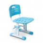 Детский стул голубой Lott С1