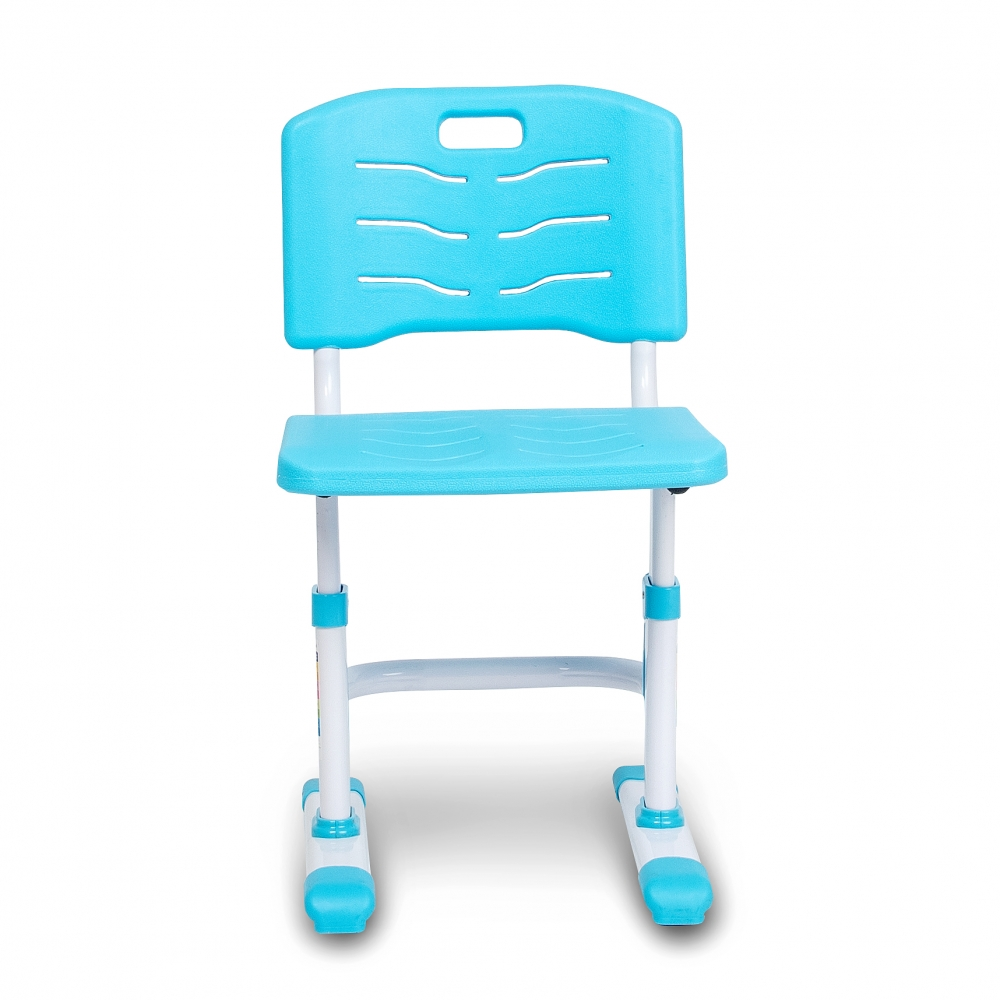 Комплект парта и стул голубой Lott S80