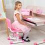 Детский стул розовый Lott С1