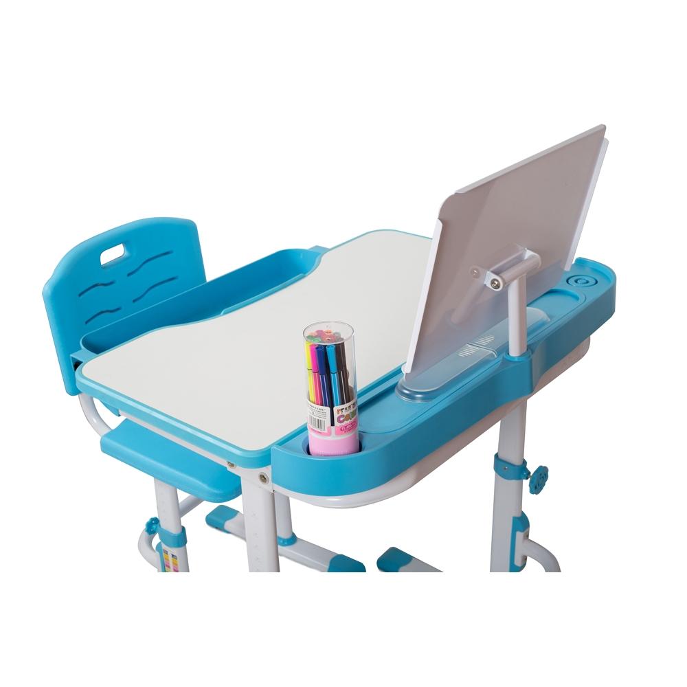 Комплект парта и стул голубой Кидди А7