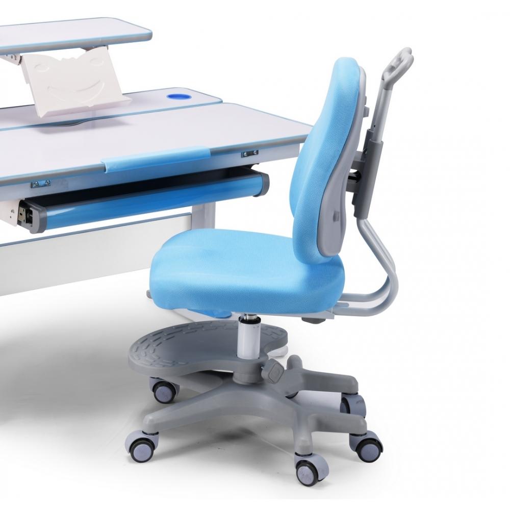 Детское кресло голубое Lott С2