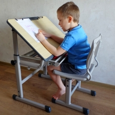 Ортопедическая парта для детей Престиж Классик Люкс