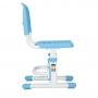 Комплект парта и стул голубой Botero Cubby