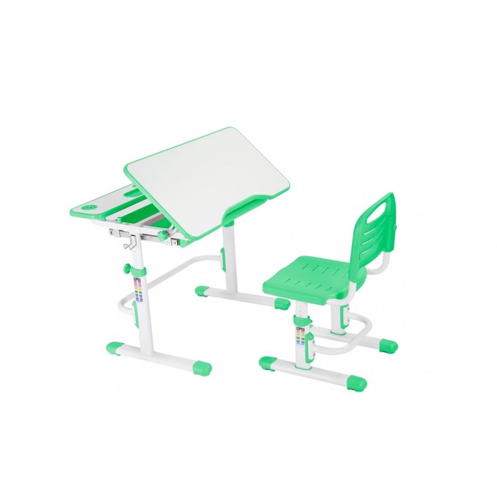 Комплект парта и стул зеленый Botero Cubby