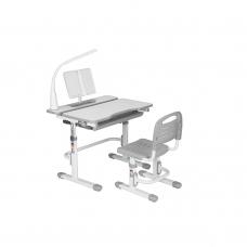 Комплект парта и стул серый Botero Cubby