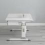Комплект парта серая Brunia Cubby и кресло серое Solerte Fundesk