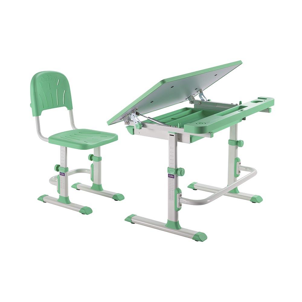 Комплект парта и стул зеленая Disa Cubby