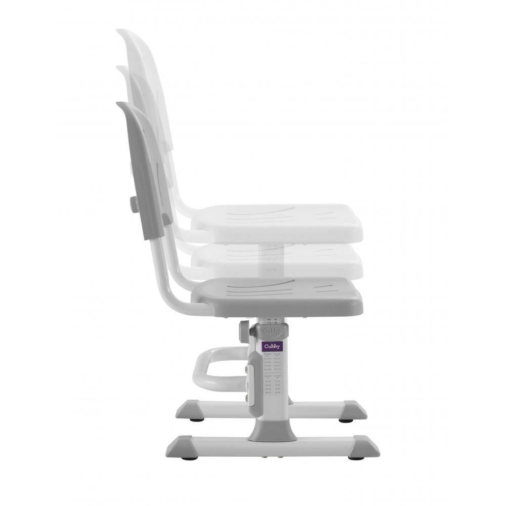 Комплект парта и стул серый Disa Cubby