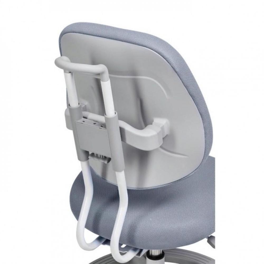 Комплект парта серая Freesia Cubby и кресло серое Pratico Fundesk