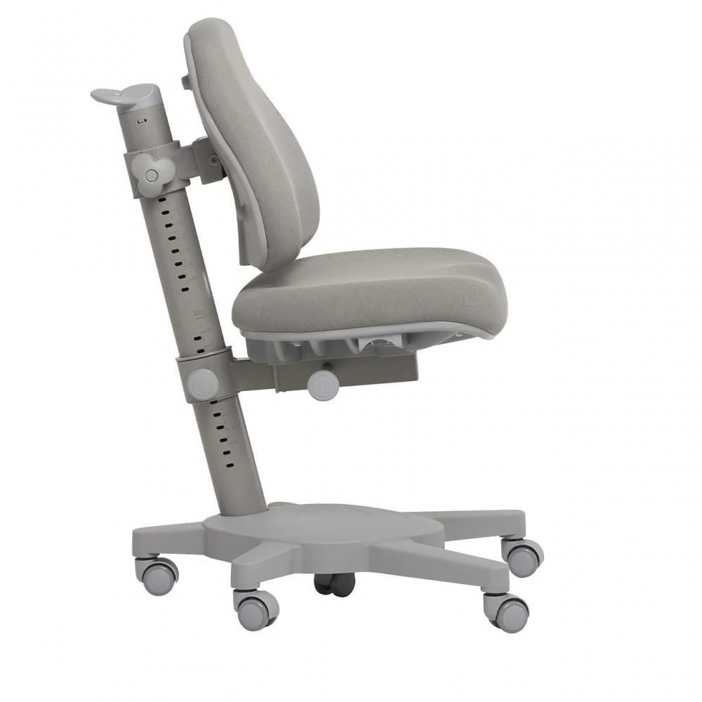 Комплект парта и кресло серый Grato и Solidago Cubby