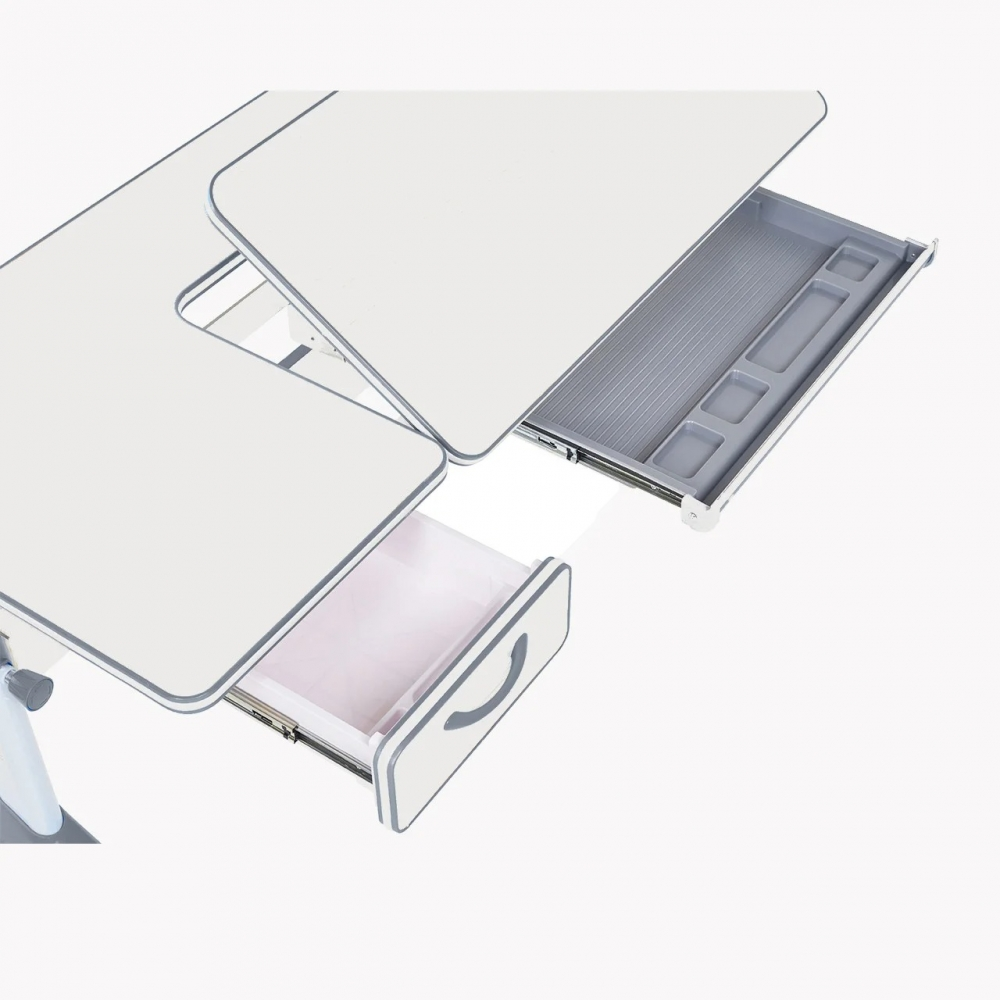 Комплект парта и кресло серый Imparare и Pratico Cubby
