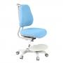 Детское кресло Paeonia Cubby и голубой чехол