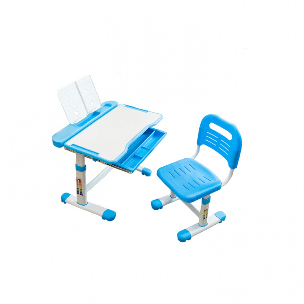 Комплект парта и стул голубой Vanda Cubby