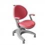 Детское кресло Cielo Fundesk с фиксированным подлокотником и розовым чехлом