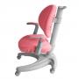 Детское кресло Cielo Fundesk с регулируемым подлокотником и розовым чехлом