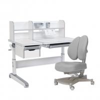 Комплект парта и кресло серый Libro и Contento Fundesk