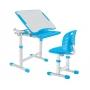 Комплект парта и стул голубой Piccolino III Fundesk