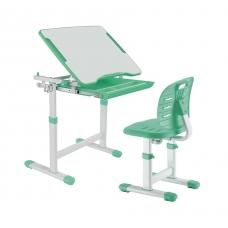 Комплект парта и стул зеленый Piccolino III Fundesk