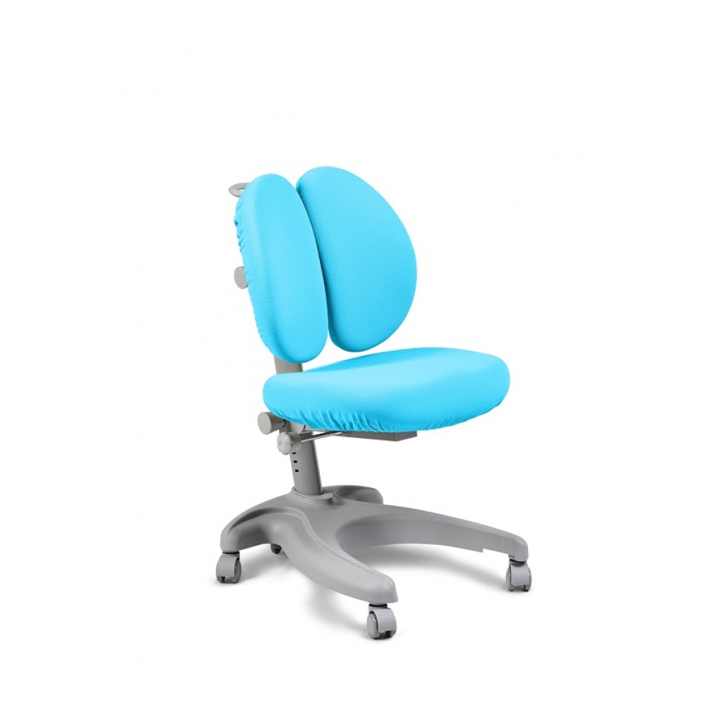 Детское кресло Solerte Fundesk и голубой чехол