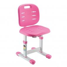 Регулируемый стул для школьника HOLTO-6 розовый
