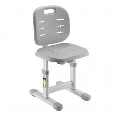 Регулируемый стул для школьника HOLTO-6 серый