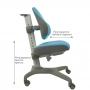 Детское кресло голубое Holto-3