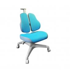 Ортопедическое кресло для школьников Holto-3D голубой