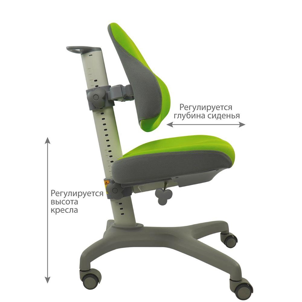 Детское кресло зеленое Holto-3D