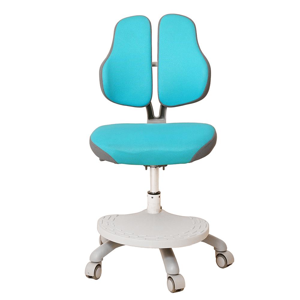 Детское кресло голубое Holto-4DF