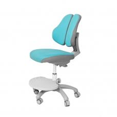 Ортопедическое кресло для школьников Holto-4DF голубой