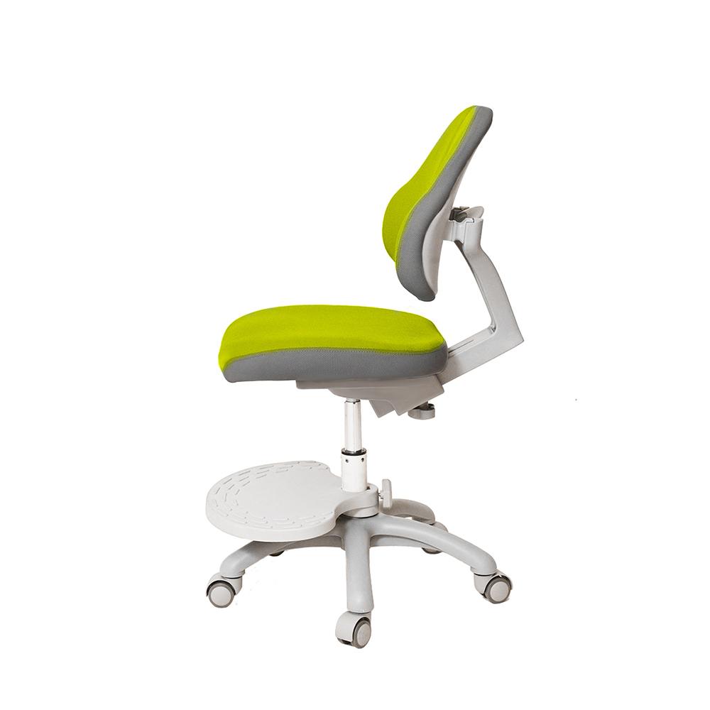 Детское кресло зеленое Holto-4DF