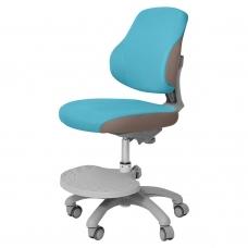 Ортопедическое кресло для школьников Holto-4F голубой