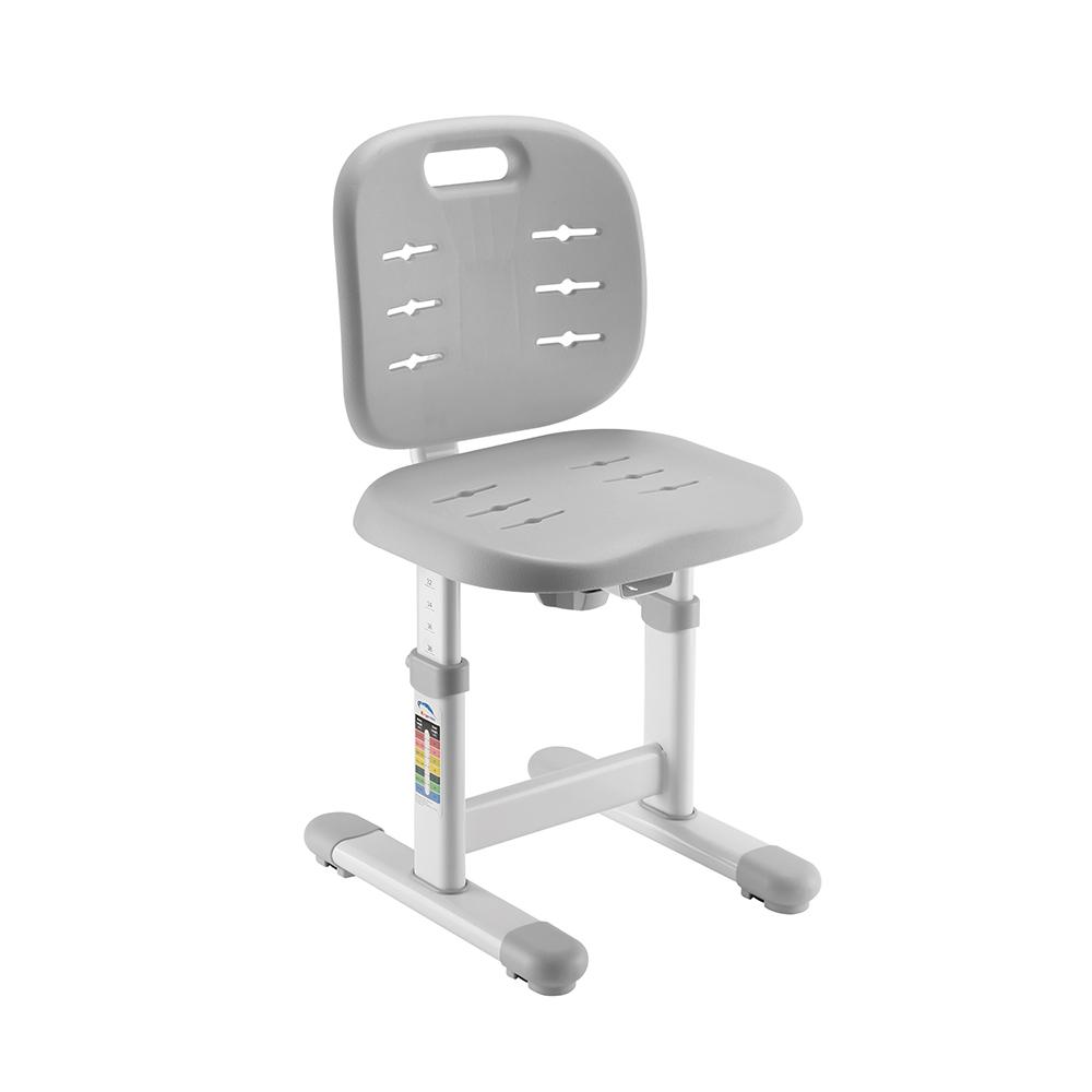 Комплект парта и стул серый Set-1 Holto