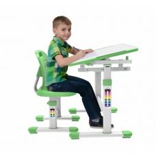 Парта школьная регулируемая Set-1 Holto зеленый