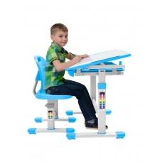 Комплект парта и стул голубой Set-2 Holto