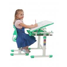 Ортопедическая парта для школьника Set-2 Holto зеленый