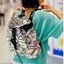 Геометрический рюкзак Мокрое Зеркало