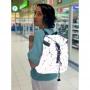 Геометрический рюкзак Неоновая Радуга