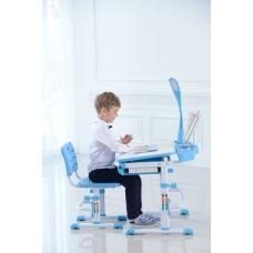 Стол для школьника трансформер Кантор LOTT MM70L голубой
