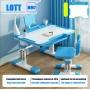 Комплект парта и стул голубой LOTT MM70L