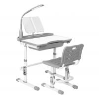 Комплект парта и стул светло серые LOTT MM7L
