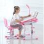 Комплект парта и стул розовый LOTT MM70L
