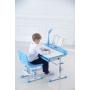 Комплект парта и стул голубой LOTT MS80L