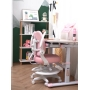 Детское кресло розовое Lott M1