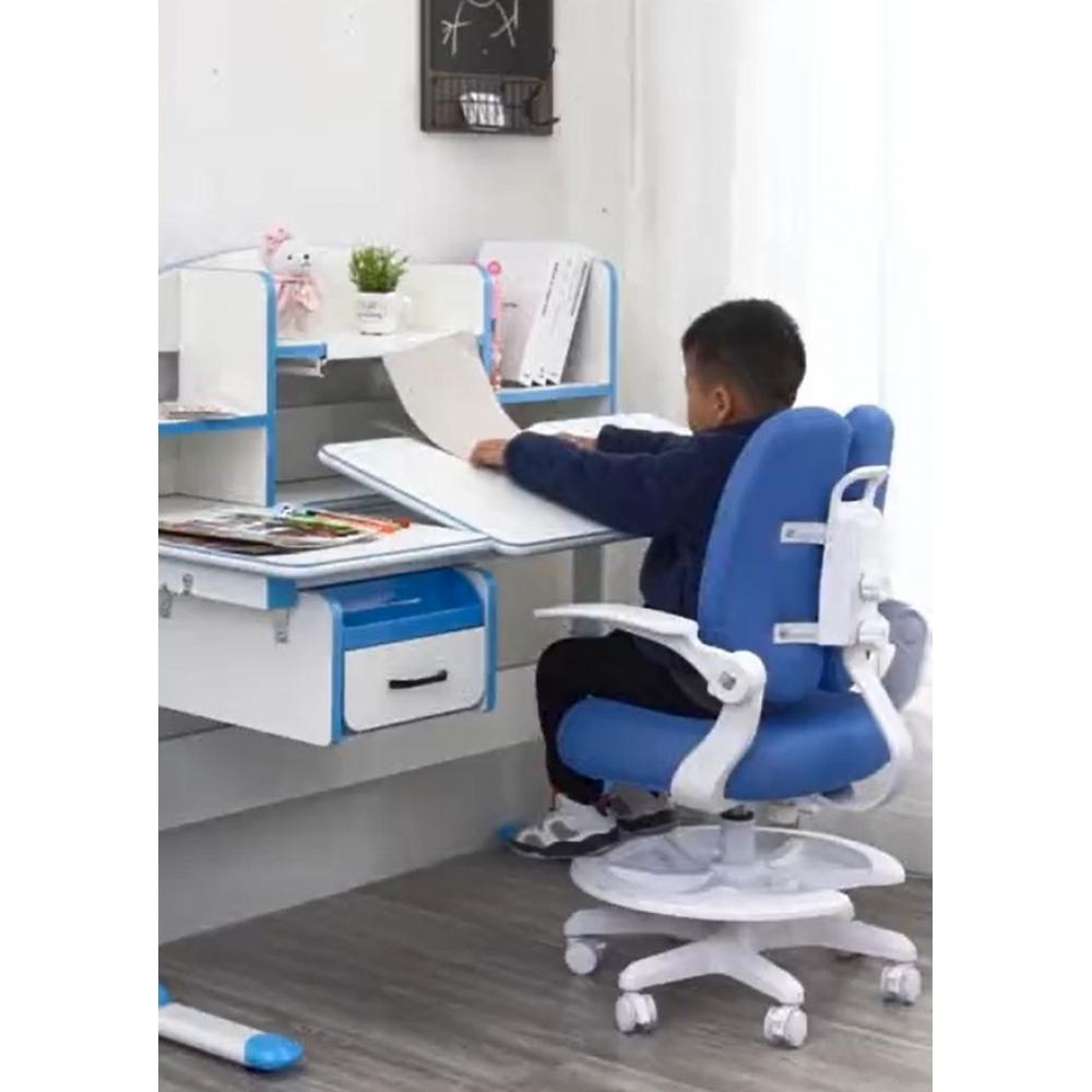 Детское кресло голубое Lott M1