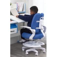 Растущее кресло для школьников Lott M1 голубой