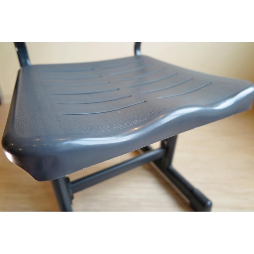 Комплект парта и стул темно серый Комфорт Галакси Люкс