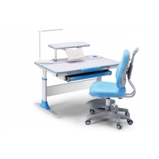 Ортопедическая парта для детей Lott A100 голубая