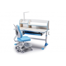 Ортопедическая парта для детей Lott A120 голубая