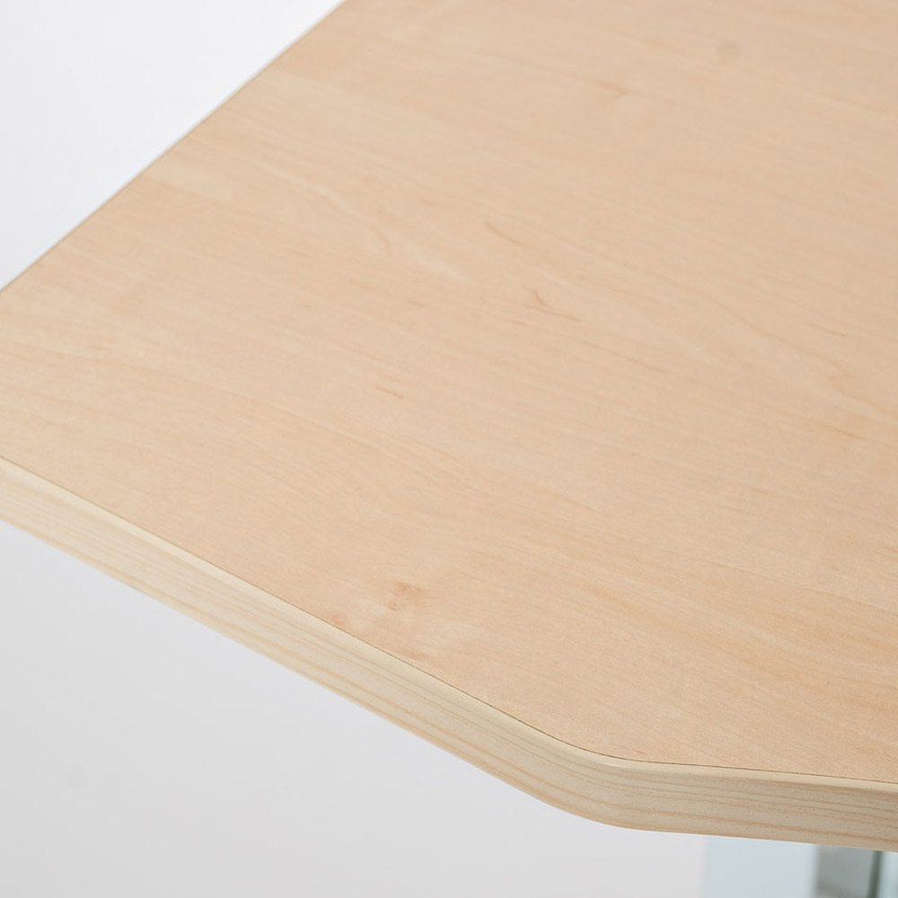Парта пневматическая Rifforma-03 светлый дуб и белый